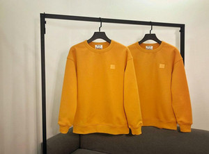 estudios de acné con capucha de los nuevos mens de la camisa de lana tendencia marca de moda suéter de diseño sonriente jersey boutique de los hombres de la mujer suéter M-XL