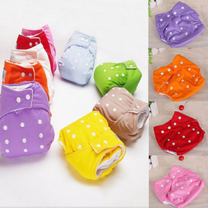 1Pcs Newborn Toddler Adjustable Reusable For 3-13kg Baby Baby Kids Boys Girls Washable Cloth Diapers Nappies