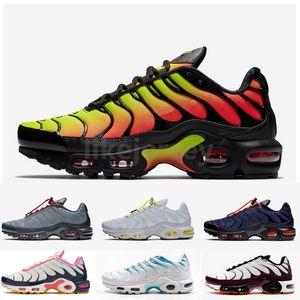 Новый Tn Plus Se кроссовки для мужчин Sunburst Blue Fury розовый темно-синий многоцветный TNS тренеры chaussure homme дизайнер спортивные кроссовки