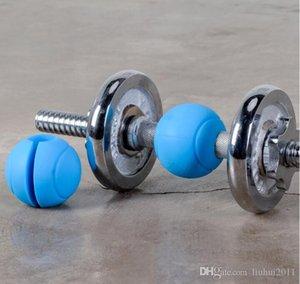 1 par de apretones de la barra a mano de la bola con mancuernas pesas rusas grasa de silicona de agarre tire hacia arriba de pesas Grip Gym Fitness equipos de gimnasia