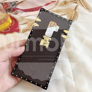 Designer-Mode-Telefon-Kästen PU-Leder für Samsung Galaxy S20 Ultra 8 9 10 PLUS HINWEIS 8 910 Fall Drop