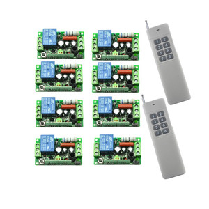 AC220V 110v 1CH 10A sistema de interruptor de controlo sem fios remoto teleswitch Transmissor Receptor + retransmitir casa z-ondas inteligente