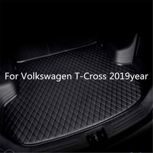 ل Volkswagen T-Cross 2019year S Car Anti-skid Trunk Matter Waterat Batt Side Car