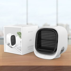 New Mini Portable Air Conditioner Humidifier Air Cooler Space Easy Cool Purifies Big Wind Fan for Home Office
