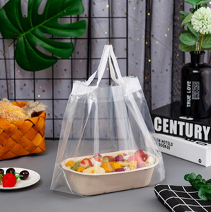 Sandwich Hamburger Packaging Plastic Bag Clothes Shopping Food Packaging Bags Bread Cake Box Handbag Eco Friendly Products Reusable Storage