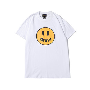 Quality S-XL SS20 New Arrival Brand Drew Short Designer Clothing Men's T-Shirts Print Top Tees 002 House Sleeve Wljmo