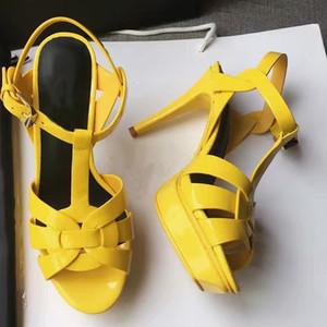 Vente chaude - mode en cuir véritable femmes sandales chaussures femme talons sapatos femininos zapatos mujer chaussure femme sapato feminino sandalias