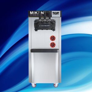 Commercial Crème glacée molle Machine avec Mix 3 Flavors / Professional Fabricant Energy Saving commerciale verticale crème glacée machine Pour Sal