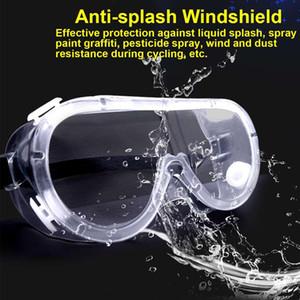 De seguridad de protección de las gafas de lente transparente infección Gafas Prevent Eye Mask Suministros anti-niebla Splash gafas de prevención de la arena