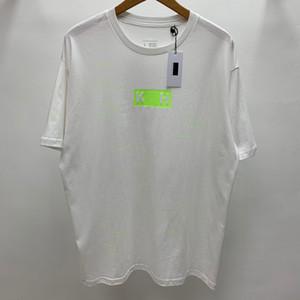 20SS Luminous Box Kleine Leckereien gedruckte, verschlüsselte T High Street mit kurzen Ärmeln Männer Frauen einfaches T-Shirt Sommer-Breathable T HFHLTX193