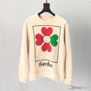 Designer Sweatshirts Long Sleeve T Shirts Men White black Hoodies fashion Brand Top Autumn Spring women luxury clothing unisex Sweater S-XL