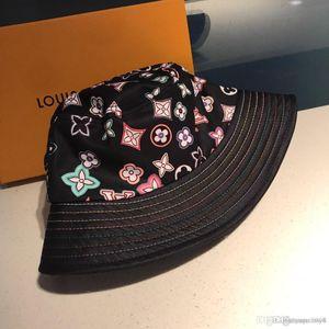 19ss iduzi Nuova del bordo dei cappelli della benna di Boonie Hat Festival pesca Fisher estiva all'aperto Sun Beach Cap Hip Hop Hat L5