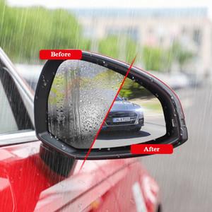 차 방수 Anti Fog 필름 Audi A3를위한 백미러 거울 보호 필름 스티커 창 명확한 스티커 A4 A4L A5 A6 Q3 Q5 Q7