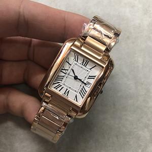 Orologi SERBATOIO ANGLAISE W5310018 18K automatico Top uomini della vigilanza del movimento Gold Quadrante Top Brand Watches inossidabile legano il trasporto libero