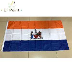 Bandeira de Albany New York 3 * 5 pés (90 centímetros * 150 centímetros) presentes festivos bandeira Polyester bandeira decoração vôo casa jardim bandeira