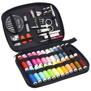 Kit de couture, 90 pièces bricolage accessoires de couture avec accessoires, Kit Mini portable pour débutants, Traveler et Vêtements d'urgence Fi1
