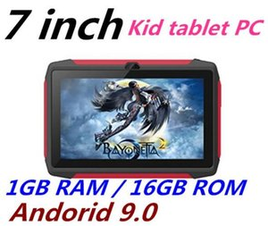 kid Tablet PC Q98 Quad Core 7 Inch 1024*600 HD screen Android 9.0 AllWinner A50 real 1GB RAM 16GB Q8 with Bluetooth wifi
