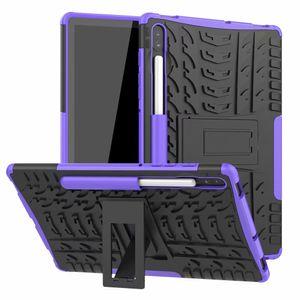 Samsung Galaxy Tab S6 T860 10.5 inç için Samsung T860 Kılıf Lüks Renkli PC TPU Sticker Arka Kapak Kılıf için
