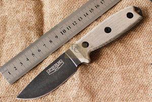 PSRK ver ESEE3 Rowen открытый небольшой фиксированным лезвием D2 стали G10 / Micarta ручка лучший EDC выживания нож подарок инструмент ножи