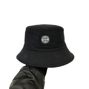 neue Art und Weise Stickerei Fischer Hut Hip-Hop-Camping Jagd Sonne Strand Angeln Hut im Freien Stingy Krempe Hüte Männer und Frauen Sonnenhut Schf.Inh