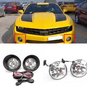 OEM Estilo coche directamente reemplazo luces de niebla de la lámpara w / bulbo + Interruptor + alambre + Bisel / 1Ponga para Chevrolet Camaro 2011-2016