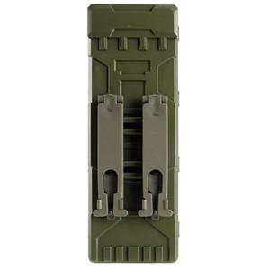 Tactical MOLLE Ammo сумка 10 раундов 12GA 12 Gauge Боеприпасы Снаряды Ружье Reload Magazine сумки Molle Box Carrier Holder