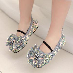 girls Princess Leather Shoes For Children Dress Shoes Sandals Flowers Fashion White Wedding Kids School Flat Girls Sandal