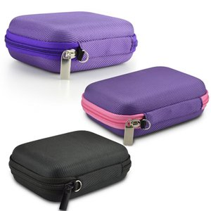 10 Bottles Essential Oil Storage Bag Carrying Portable Travel Holder Case 5ml 10ml 15ml Pouch Organizer Rangement Zipper Bags