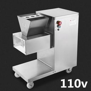 Großhandel - Kostenloser Versand 550w 110v QW Fleischschneidemaschine, Fleischschneider, Fleischschneider, 800kg / hr Fleischverarbeitungsmaschinen