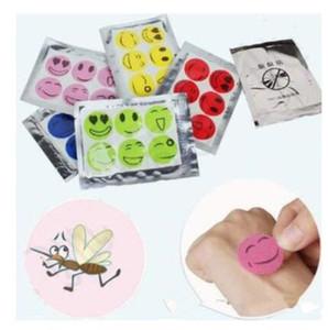Mückenschutz Sticker Safe Mosquito Killer Kein chemisches Material abweisend Mückenschutz Patch schön für Kinder und Erwachsene 6 Stück pro Set
