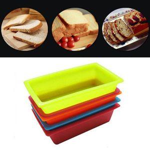 DIY Silicone Toast Box 25*13.5*6.5cm Rectangular Cake Mold Bakeware Maker Pastry Bread Cake Kitchen Baking Tools T1I294