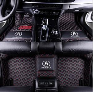 Acura TL ILX MDX RDX RLX TLX 2006-2019Luxury özel Araba Kat Mat Sigara toksik ve kokusuz için uygundur
