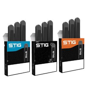 Stig wegwerf pod vape stift 1,2 ml pods wegwerf streiche 270mAh Batterieölkarren leerer stifte puff bar e zigarette