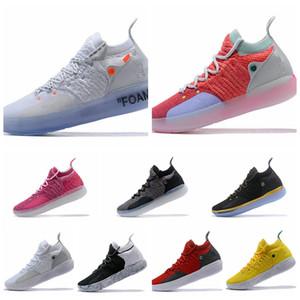 Durant ZOOM KD11 KD 11 2020 ventas calientes KD11 zapatillas de baloncesto Kevin Durant KD 11 zoom corrientes atléticos zapatos fuera de lujo KD Elite EP Baja Sport zapatillas de
