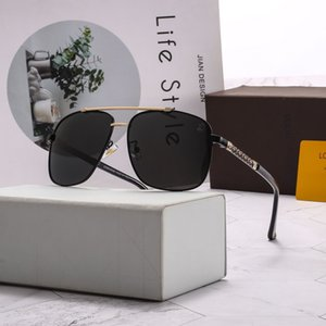 Wholesale brand new sunglasses luxury fashion men's sunglasses summer women's cat eye UV400 casual brand sunglasses box