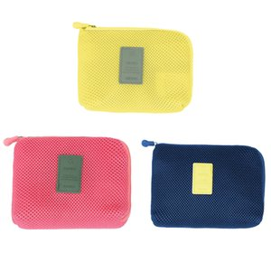 Travel Storage Bag USB Cable Earphone Power Bank Pouch Portable Digital Mouse Bag Toiletry Pouch