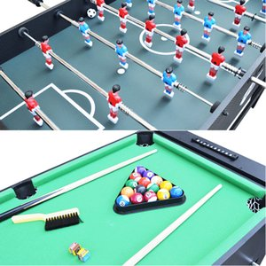 Multifunctional America Club Foosball Table Machine Cue Snooker Billiards Ball Football Soccer Table tennis Ice Hockey Game Gift