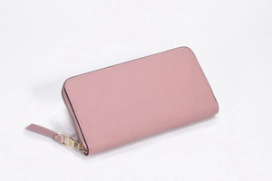 Classic Ladies Long Wallet Female Students Retro Embossed Presbyopic Coin Purse Zipper Long Section Soft Leather Large Capacity Wallet Phone