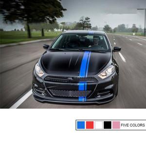 """1pcs universal 6"""" capilla raya Auto gráfico vinilo de la etiqueta del camión del cuerpo de coche compite con la raya"""