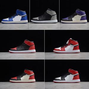 Nike Air Jordan 1 Tasarımcı Bebek 1 Çocuk Basketbol Ayakkabıları Gençlik Çocuk Atletik 1 s Erkek Kız Ayakkabı için spor Ayakkabı Ayakkabı Ücretsiz Kargo ...