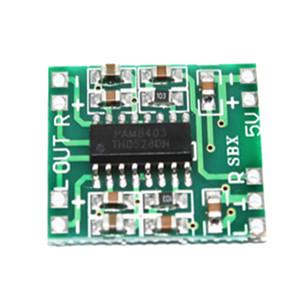 Digital Audio Amplifier Module Board Super Mini PAM8403 DC 5V 2 Channel USB