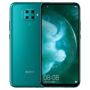 Оригинальный Huawei Нова 5Z 4G LTE сотовый телефон 6GB RAM 64GB 128GB диск Кирин 810 окта сердечника 6,26 дюйма Полный экран 48MP отпечатков пальцев ID Мобильный телефон