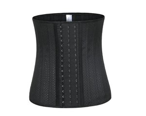 Vita Trainer Cintura Cincher Modeling Strap Hot Body Shaper che dimagrisce lattice del corsetto J190701 # OU547