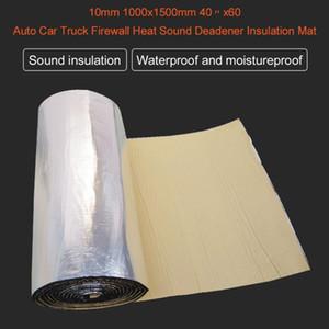 7mm 1000x1500mm Otomatik Araç Kamyon Duvarı Isı Ses Yalıtımı Deadener Mat Anti-parazit Ses Yalıtımı Pamuk Isı