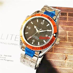 Top Brand di alta qualità orologi di lusso Planet Ocean Skyfall Limited Edition 007 Logo orologio automatico Orologi di lusso Men Watch Co-Axial Uomo