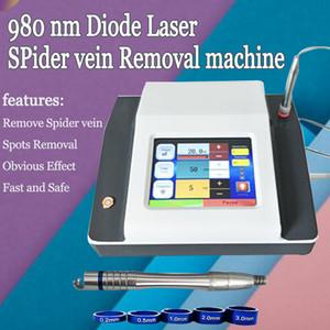 Новый аппарат для удаления сосудистых звездочек 980 нм диодный лазер варикозное расширение вен аппарат для удаления сосудов 980 нм с высокой энергией 30 Вт косметологическое оборудование