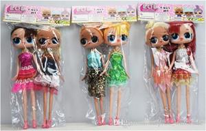 9 Pulgadas PVC Kawaii Encantadores Juguetes de Los Niños Anime Figuras de Acción Realistas Muñecas Renacidas Regalo 6 Estilos 2 unids / bolsa
