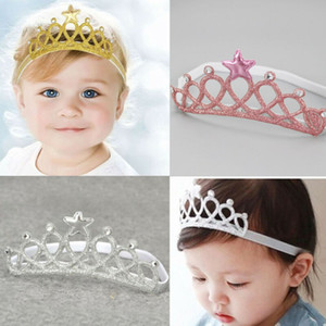 PUDCOCO douces filles enfants Les enfants de mariée demoiselle d'honneur Princesse Prom bling cheveux Couronne Bandeau Tiara anniversaire photo Nouveau