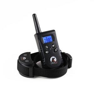 RC Pet Dog Training PaiPaitek Collar Pet Dog Trainer Supply choc électrique + Vibration + Lumière + Voice Dog Training Device