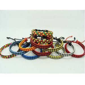 Fluorescent Neon Color PU braided Leather Bracelet the anti-fatigue Bracelets 6 Colours